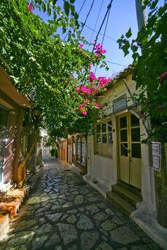 Street in Preveza, Greece