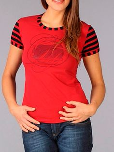 Red Woman T-Shirt Gianfranco Ferre! Available online!