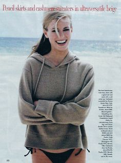 Niki Taylor , Vogue US july 1995 By Pamela Hanson