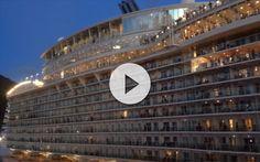 Pasa mas frecuentemente de lo que pensamos. En este vídeo podemos ver el bochorno que sufren por llegar tarde al crucero. Seguro no se les olvida.