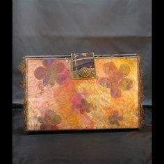 fiber art purse