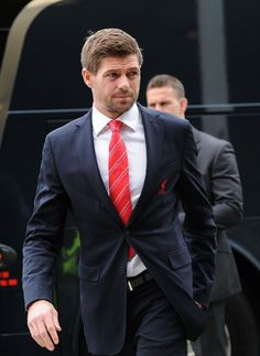 Liverpool FC Players Awards Dinner at ACC Liverpool. Steven Gerrard arrives Photo by Gavin Trafford.