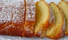 Κέικ λεμονιού... απλό, μαμαδίστικο, υπέροχο! Σνακ με τον καφέ, το γάλα ή την κρύα σοκολάτα... ~ igastronomie.gr