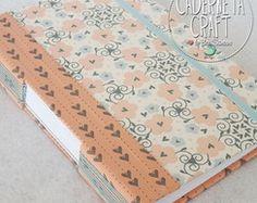 Caderno Artesanal A5 Longstitch Love