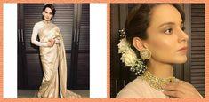 Kangana Ranaut Arrives At Virushka Mumbai Reception I POPxo | POPxo Sabyasachi Sarees, Celebs, Celebrities, Fashion Quotes, Looking Gorgeous, Wedding Bells, Mumbai, Bollywood, Reception