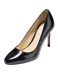 black almond toe pumps - HD1200×1500