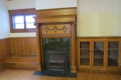 1903 Victorian fireplace