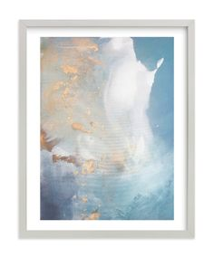 """""""Undertow"""" - Art Print by Julia Contacessi in beautiful frame options and a variety of sizes."""