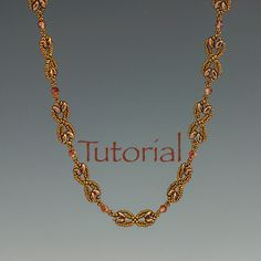 Necklace Pattern: Nouveau SuperDuo Chain