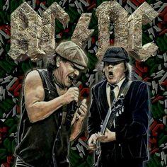 Ac Dc, Brian Johnson, Angus Young, Rockn Roll, Hard Rock, Rock Bands, Heavy Metal, Musicians, Legends