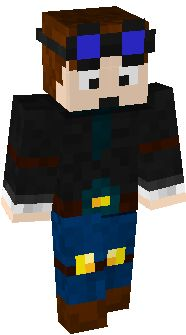 minecraft skin DanTDM-The-Girl | creativity | Pinterest ...