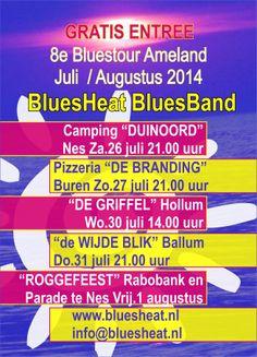 BluesTour Ameland 2014