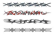 Photos - Tribal Armband Temporary Tattoos And Designs Wrist And Ankle Tribal Band Tattoo, Tattoo Band, Wedding Band Tattoo, Band Tattoo Designs, Forearm Band Tattoos, Armband Tattoo Design, Tattoo Bracelet, Tribal Tattoos, Wedding Bands