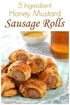 Could You Eat Pizza With Sort Two Diabetic Issues? Really Easy 5 Ingredient Honey Mustard Sausage Rolls - A Quick And Easy Recipe For Kids To Make That Is Perfect Party Food Too - Cheats Sausage Rolls Recipe Easy Meals For Kids, Quick Easy Meals, Easy 5, Kids Meals, Quick Party Food, Party Food For Kids, Cooking For Two, Easy Cooking, Cooking Games