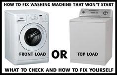 can a plumber fix a washing machine