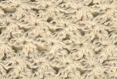 Punto 49 tejido a crochet