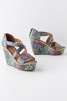 Floriculture Wedges - (in sale and very tempted)