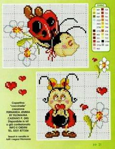 ru / Foto n º 21 - 32 - ZinaidaR Butterfly Cross Stitch, Cross Stitch Bird, Cross Stitch Animals, Cross Stitch Charts, Cross Stitching, Cross Stitch Embroidery, Hand Embroidery, Cross Stitch Patterns, Cross Stitch For Kids