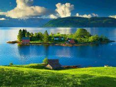 Beautiful small island - off the coast of Norway.  ASPEN CREEK TRAVEL - karen@aspencreektravel.com