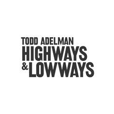 Todd Adelman Logo by Cast Iron Design