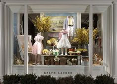 spring window display.