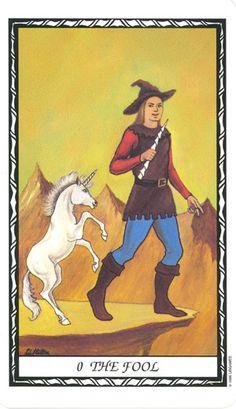 The Fool--Unicorn Tarot