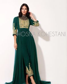Pakistani Frocks, Pakistani Outfits, Indian Outfits, Abaya Fashion, Indian Fashion, Fashion Dresses, Afghani Clothes, Nikkah Dress, Eastern Dresses