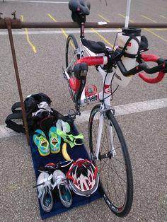 Triathlon Transition Area                                                                                                                                                                                 More