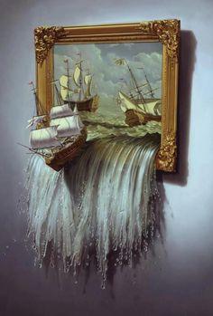 Narnia inspired art work. ❤️