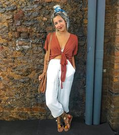 68 New Ideas Holiday Outfits Pants Street Styles Boho Outfits, Trendy Outfits, Cute Outfits, Fashion Outfits, Fashion Moda, Look Fashion, Holiday Outfits, Spring Outfits, Looks Hippie
