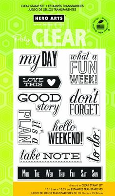 Hero Arts My Day Clear Stamps Hero Arts http://www.amazon.com/dp/B00F0IS8P6/ref=cm_sw_r_pi_dp_1uvUtb0PJ0H8E7V3