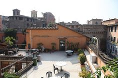 John Cabot University Terraces