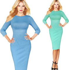 Womens Lovely Evening Party Bodycon Formal Dress