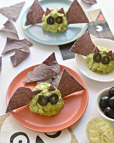 Batamole! It's the nocturnal lovers dream come true* Search on site (Guacamole Bats) for instructions. *these bats do not turn into vampires.