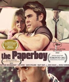 #ThePaperboy: movie review. An erotic thriller, starring by the sexy Nicole Kidman, Zac Efron, Matthew McConaughey and John Cusack