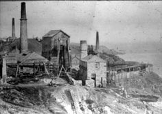 Old West | Geevor Tin Mine: The Rise of Tin and Copper: Industrial Copper Mining ...