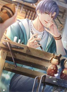 Anime Neko, Kawaii Anime Girl, Anime Art, Cool Anime Guys, Handsome Anime Guys, Anime Boys, Anime Picture Boy, Anime Stories, Anime Drawings Sketches