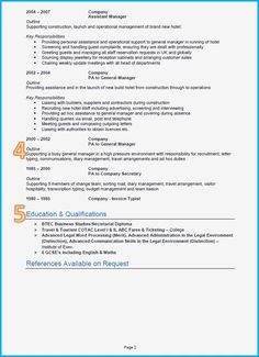 2 Column Cv Template Cv Template Pinterest Resume Templates