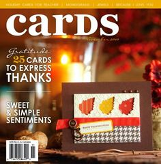 CARDS Magazine Nov 2010 | Northridge Publishing