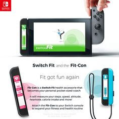 Switch Fit & Fit-Con Accessory (Fan art) : NintendoSwitch