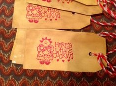 Kitchen paper tags....faapofg by hootnanniesbyjeanne on Etsy, $2.00