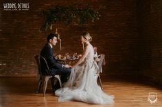 Industrial Winter Wedding / Nuntă industrială de iarnă - Sedință foto inspirațională - PAPIRA Industrial, Statue, Winter, Wedding, Winter Time, Valentines Day Weddings, Industrial Music, Weddings, Marriage