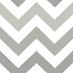 PAPIER PEINT ZIG ZAG : Papier peint autocollant zig zag blanc et gris. Facile à installer ne laisse aucun résidu sur le mur. S'installe en quelques minuteset s'enlève en quelques secondes. Se retire en un seul morceau. 3 étapes faciles: peler, coller et découper. Couvre 36 pieds carrés.