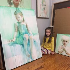 ali cavanaugh - Recherche Google Watercolor Portrait Painting, Watercolor Girl, Watercolor Drawing, Portrait Art, Painting & Drawing, Portrait Paintings, Painting People, Pastel, Painting Inspiration