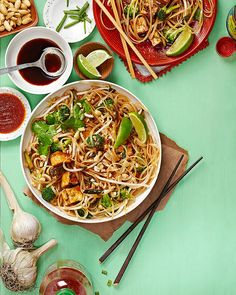 Everyday Pad Thai by IsaChandra. Delicious and easy. Makes a boatload, though.