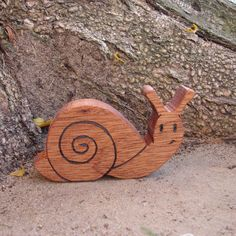 Snail Natural Toy