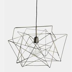 Lampenschirm Asymmetric Metallgrau von house doctor, 64,00 €