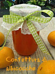 vaniglia e cioccolato: Confettura di albicocche metodo ''Ferber''