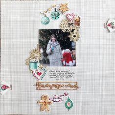 Layout by Hajnal Suhai Scrapbook Pages, Scrapbooking Ideas, Die Cutting, Christmas Cards, Bullet Journal, Paper, Wrapping, Layouts, Blog