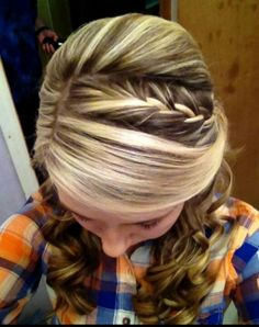 My prom hair :)